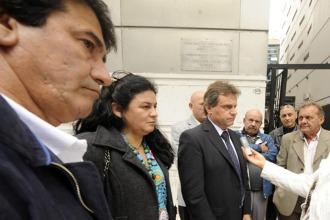Fernández, Ledesma y Pulti tomaron parte de la reunión.