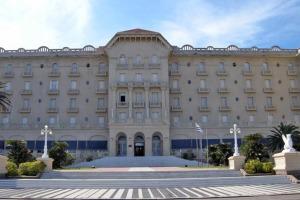 El Hotel Argentino en Piriápolis.