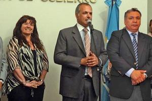 Gabriela Dufour, Martín Buzzi y Héctor Rojas.