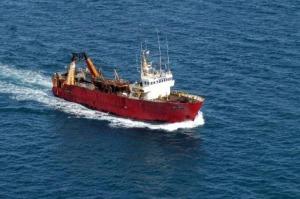 El buque pesquero Magdalena María II.