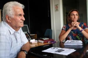 Como tantas veces en Mar del Plata o en el sur, Chicho y Karina Di Leva volvieron a dejar el tendal.