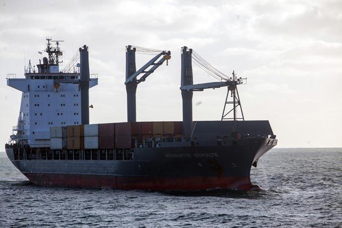 Revista Puerto - Regresa el portacontenedores a Mar del Plata