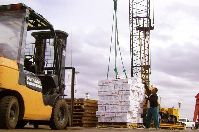 Revista Puerto - Vertiginosa caída de desembarques en Madryn y Deseado