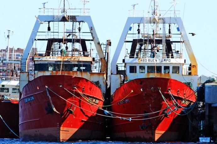 Ordenaron al CFP frenar la transferencia de las CITC de los dos barcos.