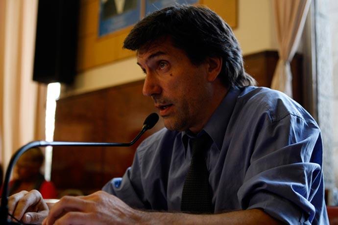 Mario Rodríguez, concejal radical de Mar del Plata.